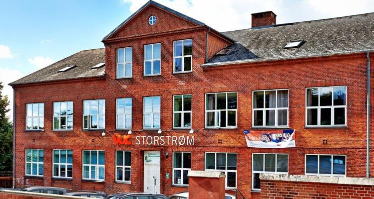 Bygningen hvor FGU skal ligge i Faxe
