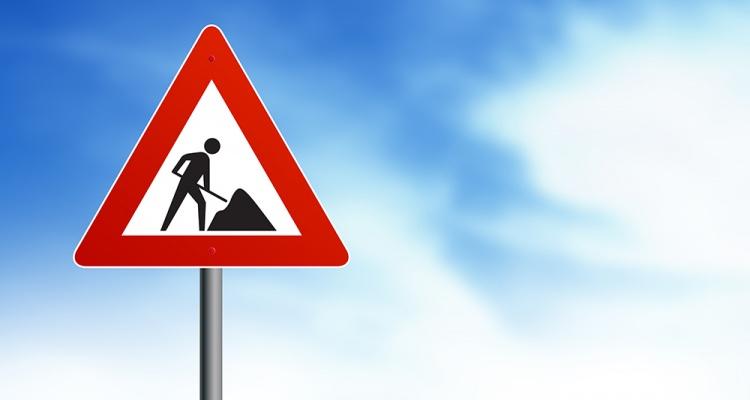 Vejarbejde og midlertidige vejlukninger