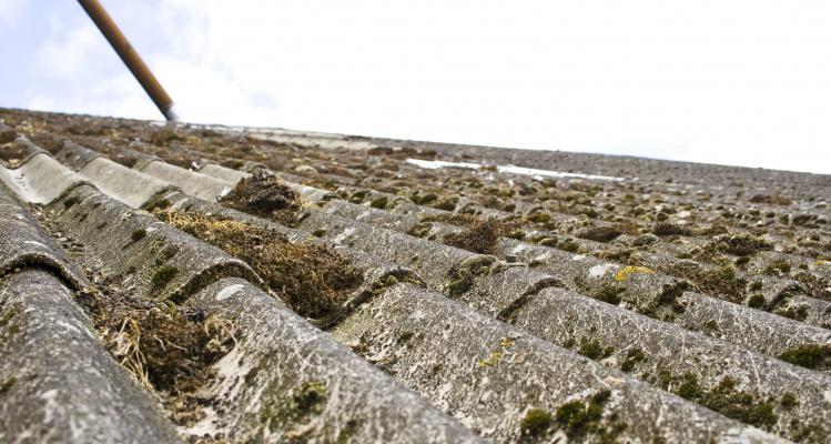 Billede af asbesttag