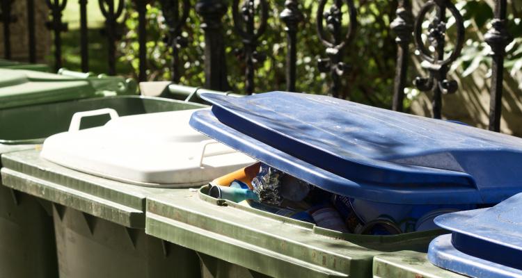 Billede af affaldsbeholdere