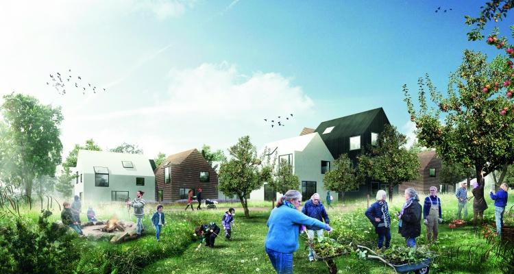 Visualisering af bydelspark