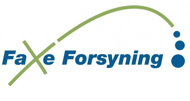 Faxe Forsynings logo