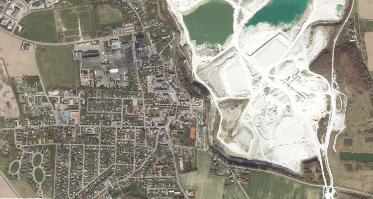 Gis Digitale Kort Over Faxe Kommune Faxekommune Dk