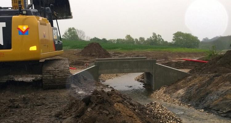 etablering af ny bro