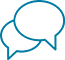 Ikon for samtale - Borgerservice